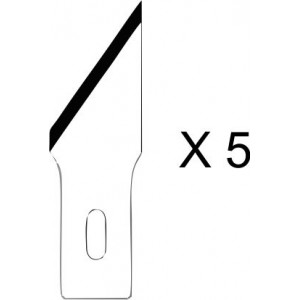 HO365 - SPARE BLADES FOR CUTTER NR 2 (5 PCS - HOLI PACKAGING)