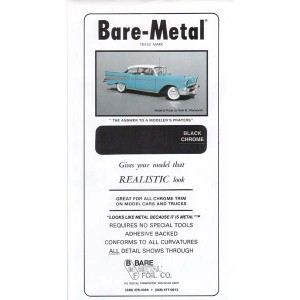 BM007 - BARE METAL FOIL BLACK CHROME