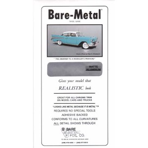 BM011 - BARE METAL FOIL MATTE ALUMINIUM