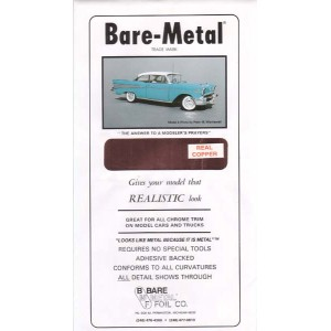 BM017 - BARE METAL FOIL REAL COPPER