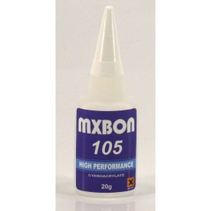 MX105 - CYANOACRYLATE ADHESIVE QUICK THIN (BOX OF 50 PCS)
