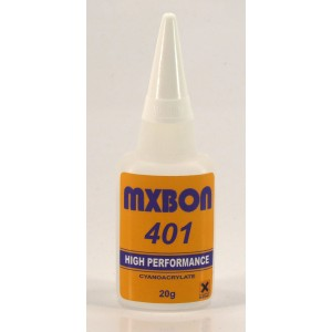MX401 - CYANOACRYLATE ADHESIVE SLOW THIN (BOX OF 50 PCS)